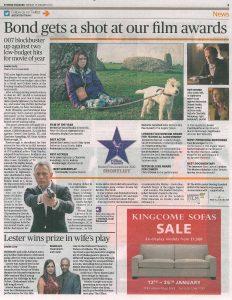 Evening Standard 15 January 2013