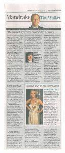 Telegraph 25 January 2012