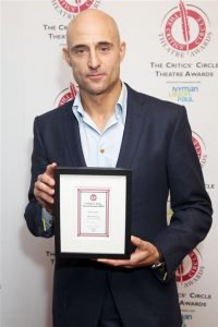 Jan 2014: Mark Strong won Best Actor for A View from the Bridge