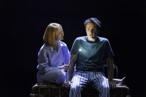 Poppy Miller and Jamie Parker in Harry Potter and the Cursed Child, directed by John Tiffany