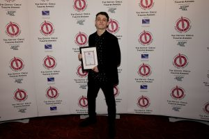 Anthony Boyle (Harry Potter & the Cursed Child) wins The Jack Tinker Award for Most Promising Newcomer
