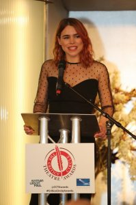 Billie Piper (Yerma) collects Best Actress