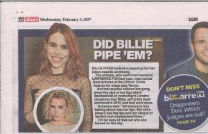 The Sun 1 February 2017