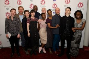 Members of the cast of three-time Critics' Circle winner Harry Potter & the Cursed Child