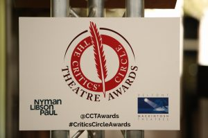 The Critics' Circle Theatre Awards 2016