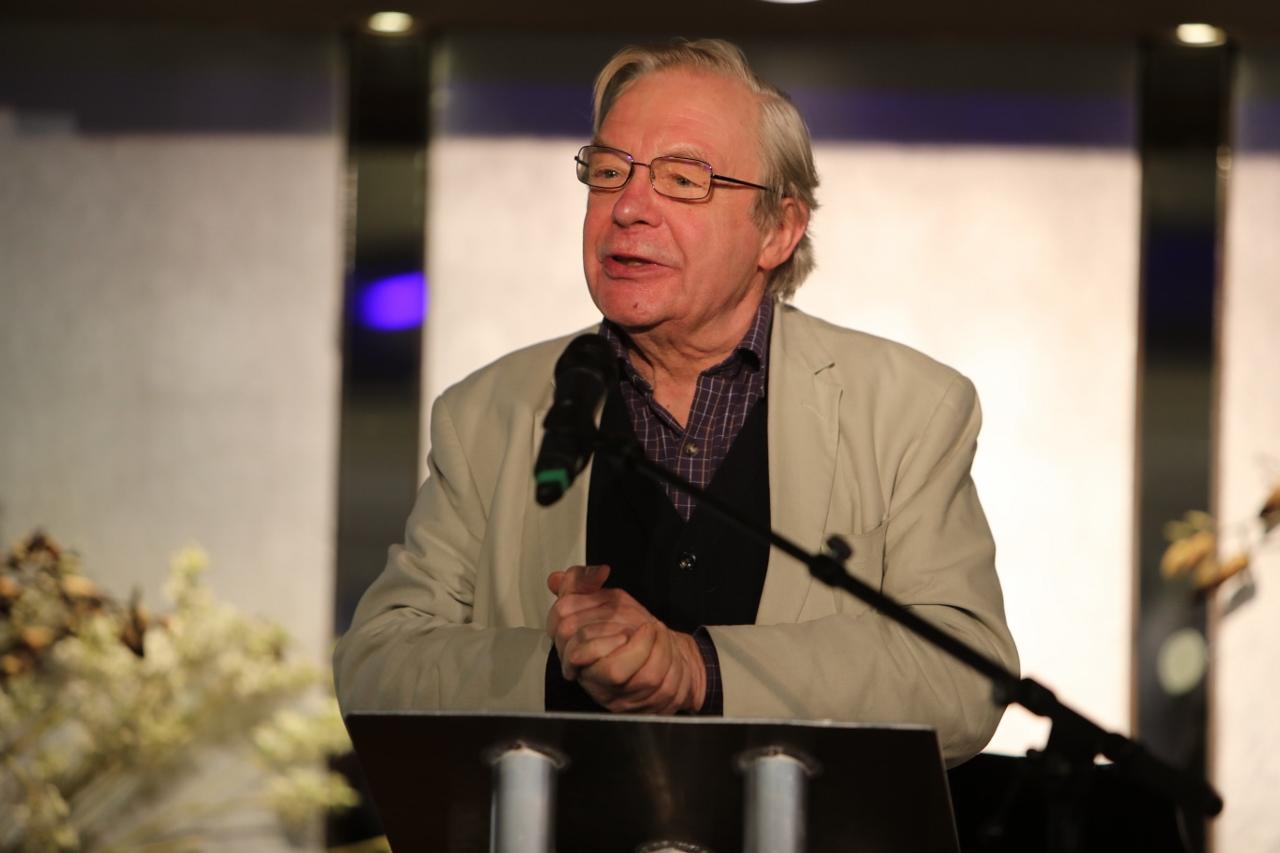 Michael Billington at the Critics' Circle Theatre Awards