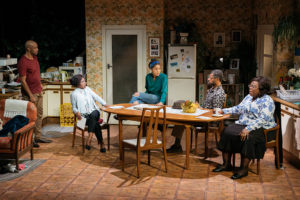 The cast of Nine Night. © Helen Murray