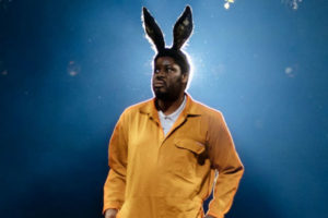 Hammed Animashaun in A Midsummer Night's Dream at the Bridge Theatre