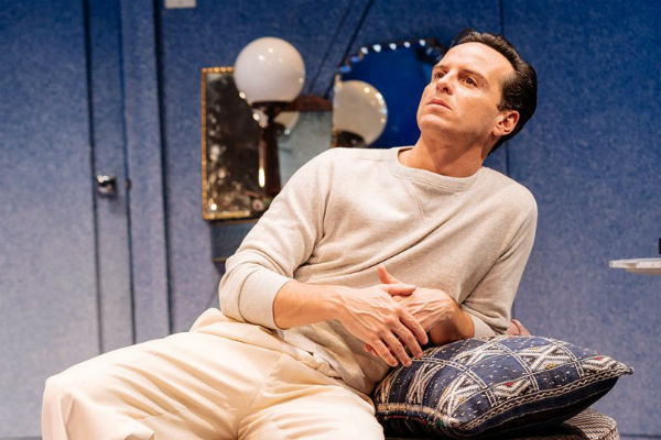 Andrew Scott in Present Laughter at the Old Vic Theatre