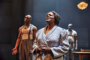 Sharon D Clarke in Death of a Salesman at the Young Vic Theatre